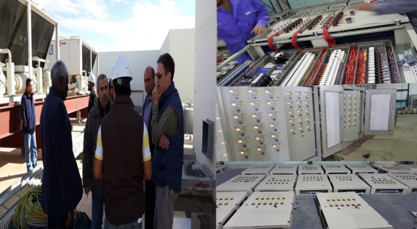 Control panels for the World Islamic Call Society project(WICS)